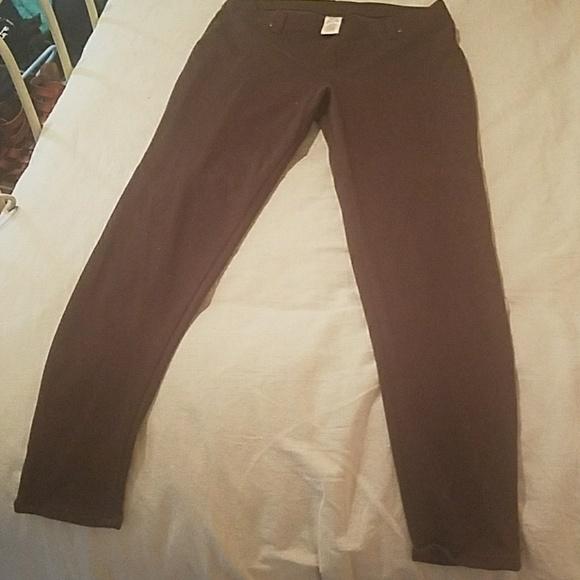 0c9e8d43ea1ba Faded Glory Pants | Chocolate Dark Brown Jeggings | Poshmark